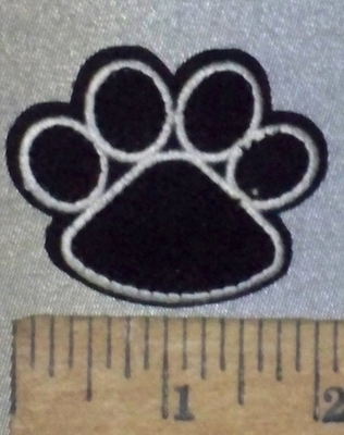 3683 C -  Puppy/Kitten Paw Print - Embroidery Patch