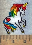 3686 C - Unicorn - Embroidery Patch