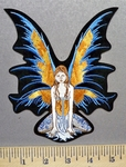 3701 S - Winged Fairy - Embroidery Patch