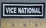 3735 L - Vice National - Embroidery Patch