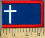 3769 N - Battle Cross - Embroidery Patch