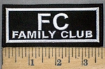 3779 L - FC - Family Club - Embroidery Patch