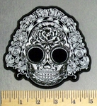 38 G - DISCONTINUED  Sugar Skull Bride - Embroidery Patch