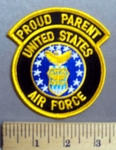 3861 S - Proud Parent - United States Air Force - Embroidery Patch