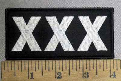 3864 G - XXX - Embroidery Patch