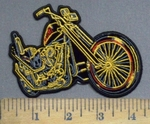 3897 N - Motorcycle - Embroidery Patch