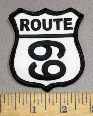 3912 N - Route 69 - Embroidery Patch