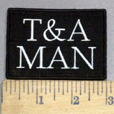3929 N - T & A Man - Embroidery Patch