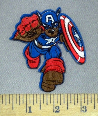 3937 C - Captain America - Avenger Character - Embroidery Patch