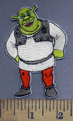 3961 C - Shrek - Embroidery Patch