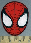 3967 C - Spiderman Face - Embroidery Patch