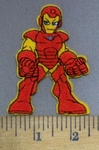 3969 C - Iron Man - Avenger Character - Embroidery Patch