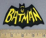 4000 C - Batman In Cape - Embroidery Patch