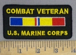 4003 W - Combat Veteran - U.S. Marine Corps - Embroidery Patch