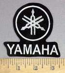 4004 L - Yamaha With Logo - Embroidery Patch