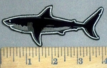 4013 G - Great White Shark - Embroidery Patch