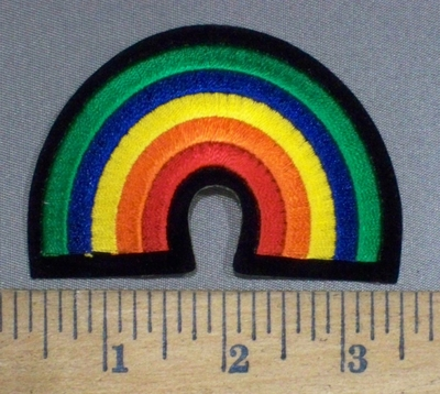 4014 N - Rainbow - Embroidery Patch