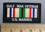 4016 S - Gulf War Veteran - US Marines - Embroidery Patch