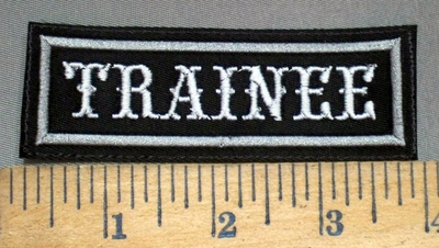 4033 L - Trainee - Embroidery Patch