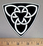 4043 G - Celtic Brotherhood Symbol/Logo - Embroidery Patch