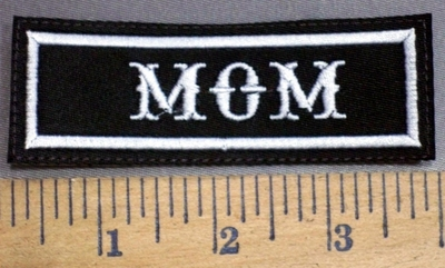 4069 L - Mom - Embroidery Patch