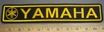 4080 L- Yamaha With Logo - Yellow - Embroidery Patch