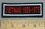 4119 L - Vietnam 1959-1975  - Embroidery Patch