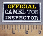 4147 S - OFFICIAL Camel Toe Inspector - Embroidery Patch