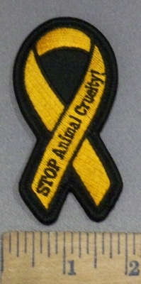 4155 S - Animal Cruelty/Abuse - Embroidery Patch