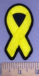 4161 S -  Bone Cancer - Bladder Cancer - Support Troop - Yellow Ribbon - Embroidery Patch