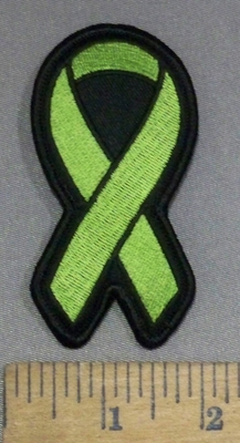 4166 S - Blood Cancer Ribbon - Embroidery Patch