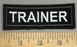 4176 L - Trainer - Embroidery Patch