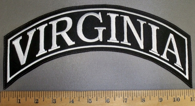 4206 L - Virginia - Top Rocker - Embroidery Patch