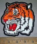 4217 CP - Roaring Bengal Tiger - Embroidery Patch