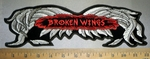 4233 CP - Broken Wings - Embroidery Patch