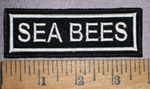 4264 L - Sea Bees - Embroidery Patch
