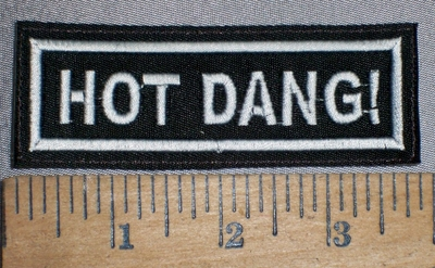 4271 L - Hot Dang! - Embroidery Patch