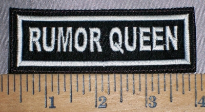 4273 L - Rumor Queen - Embroidery Patch