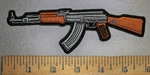 4341 CP - AK 47 - Left Side - Embroidery Patch