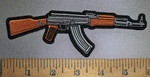4342 CP - AK 47  - Right Side - Embroidery Patch