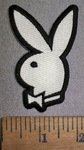 4343 CP - Playboy Bunny Logo - Embroidery Patch