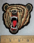 4350 CP - Brown Bear - Embroidery Patch