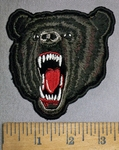 4353 Cp - Black Bear - Embroidery Patch