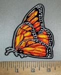 4387 G - Monarch Butterfly - Embroidery Patch