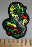 4392 S - Small - Dragon - Embroidery Patch