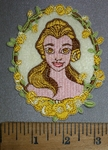 4399 C - Princess Belle - Embroidery Patch