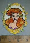 4401 C -  Princess Ariel - Oval - Embroidery Patch