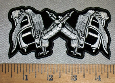 4408 CP - Tattoo Guns - Small Version - Embroidery Patch