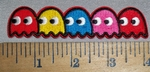 4415 CP - Pacman - Embroidery Patch