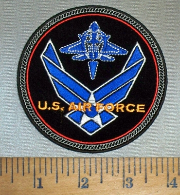 4421 CP - U.S. Air Force -  New Logo - Round - Embroidery patch